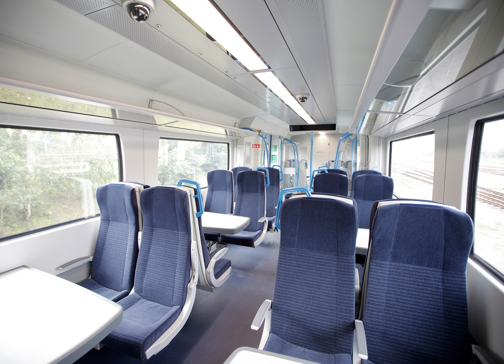 Desiro City trains for the Thameslink route in London