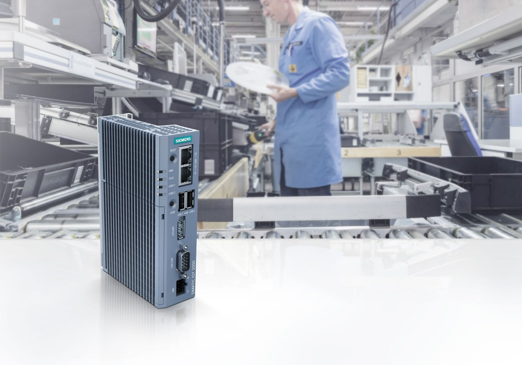 New Siemens gateway between cloud, in-company IT and production