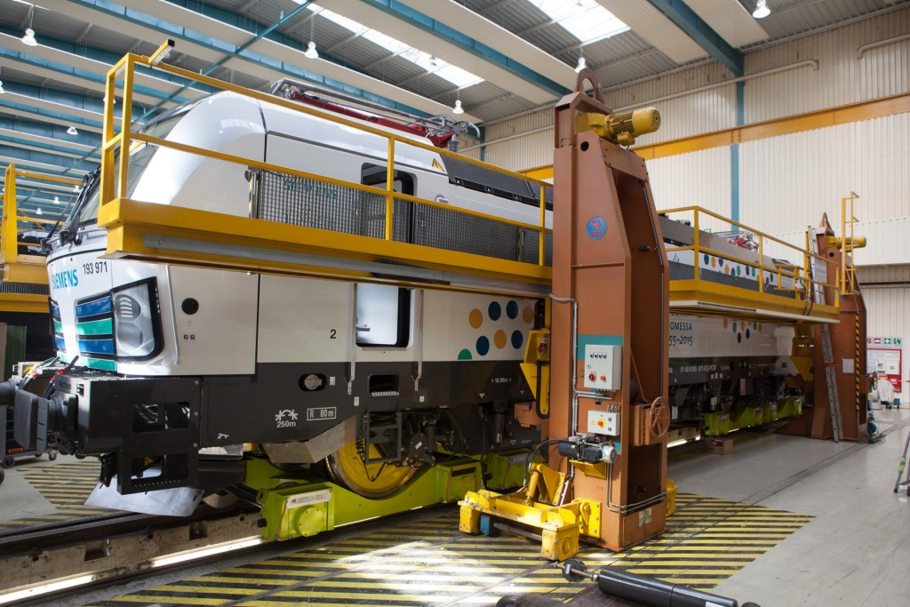 First broad gauge Vectron on its way to Finland
