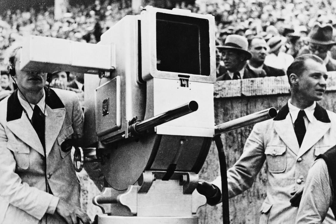 Telefunken, TV broadcast at the Berlin Olympics, 1936