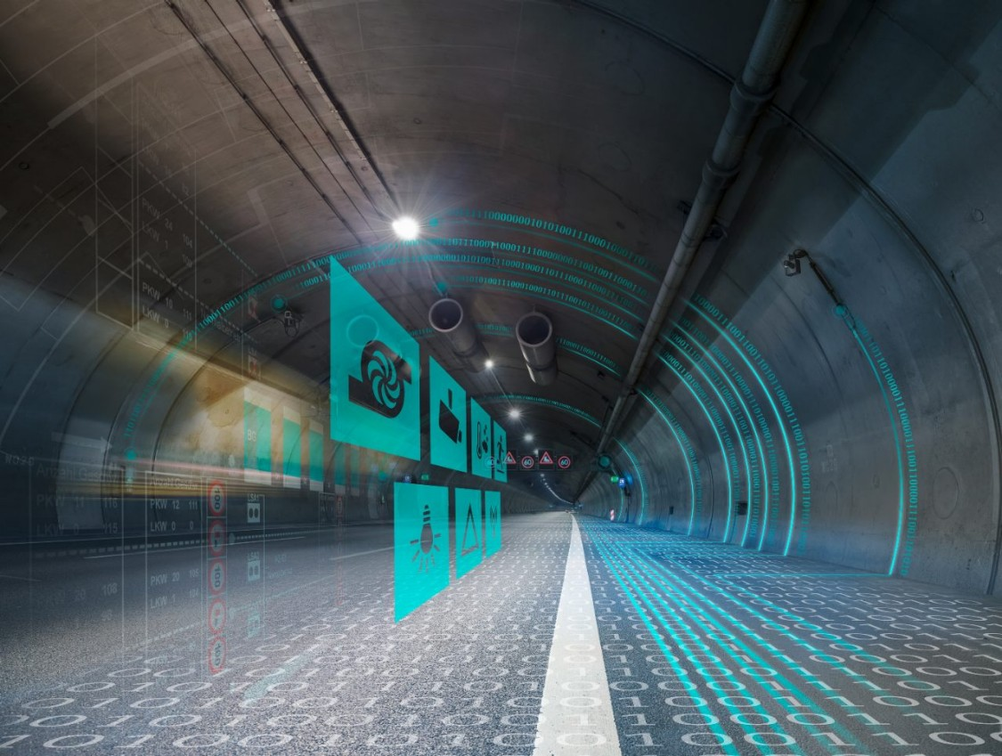Tunnel du Saint-Gothard: une exploitation sans faille grâce à l'automatisation