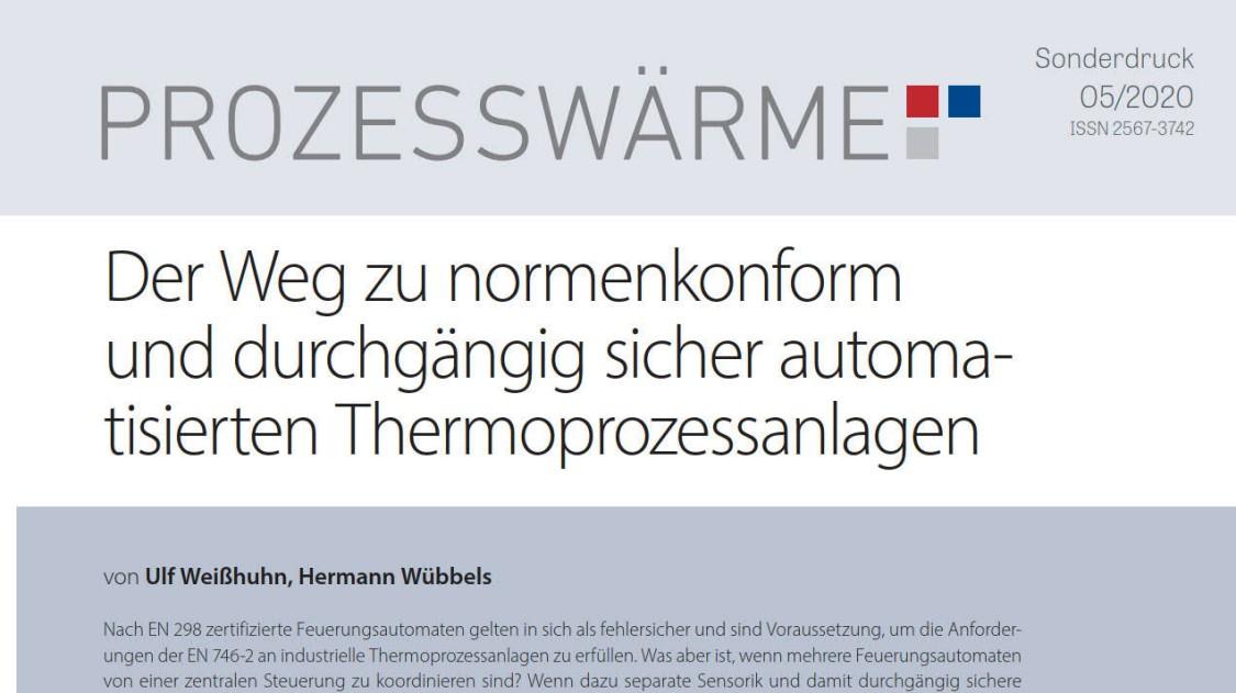 Automatisierte Thermoprozessanlagen