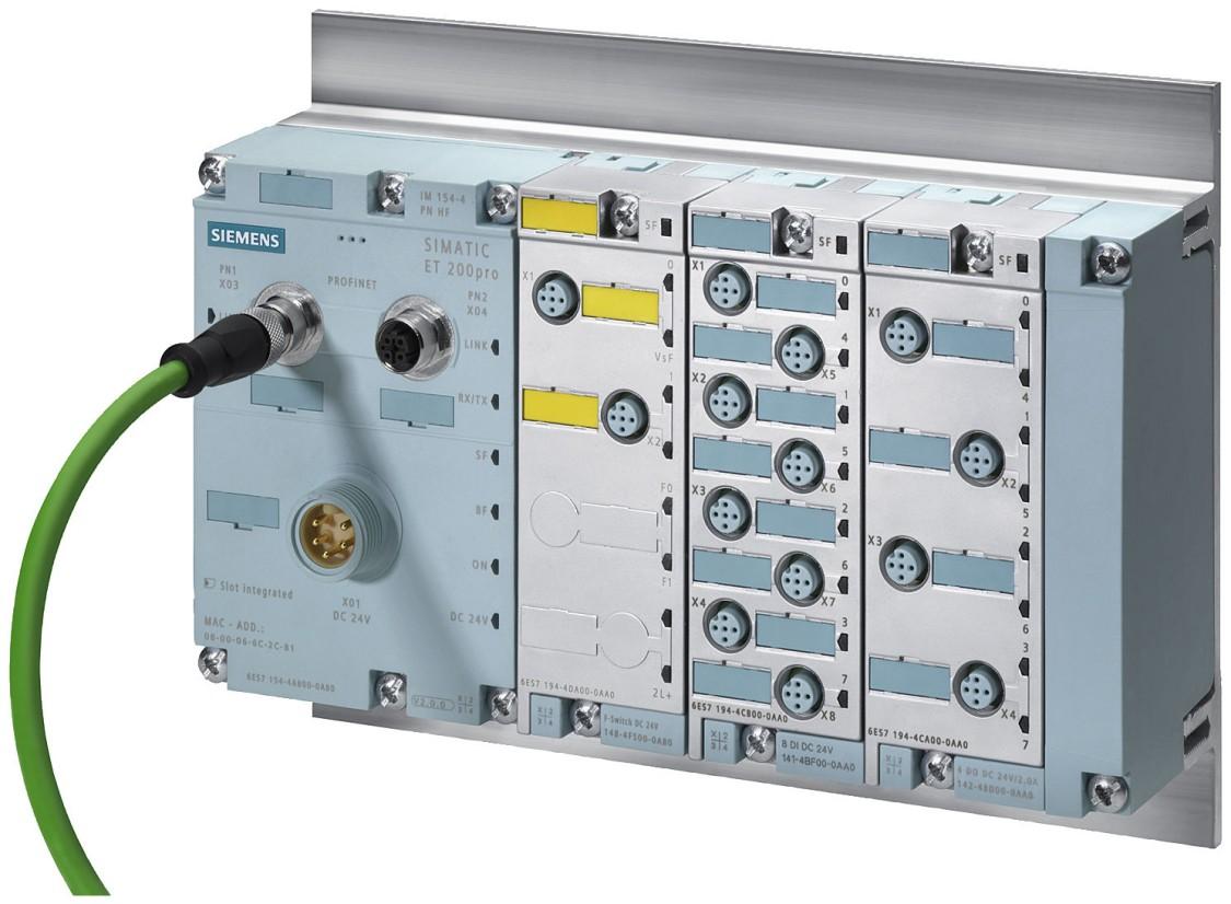 ET 200pro Station mit F-Switch