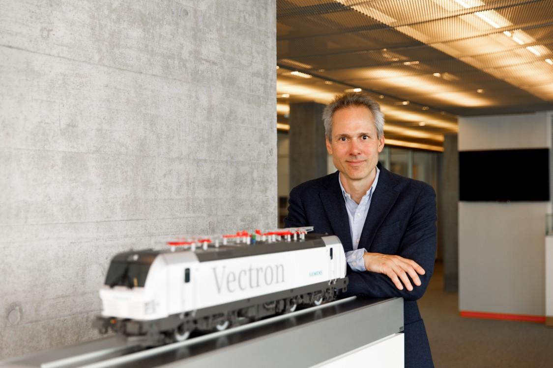 Portraitfoto Domenic - Siemens Mobility Schweiz Kampagne