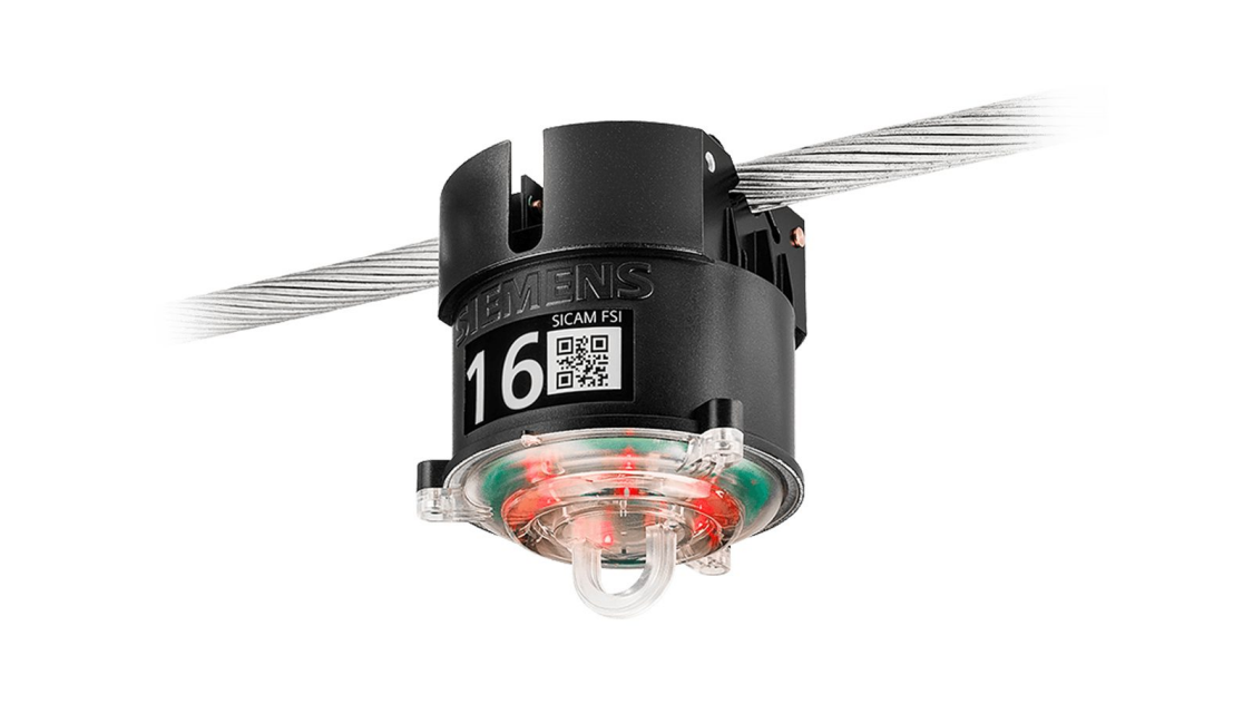 Short-circuit indicator for overhead lines – SICAM FSI