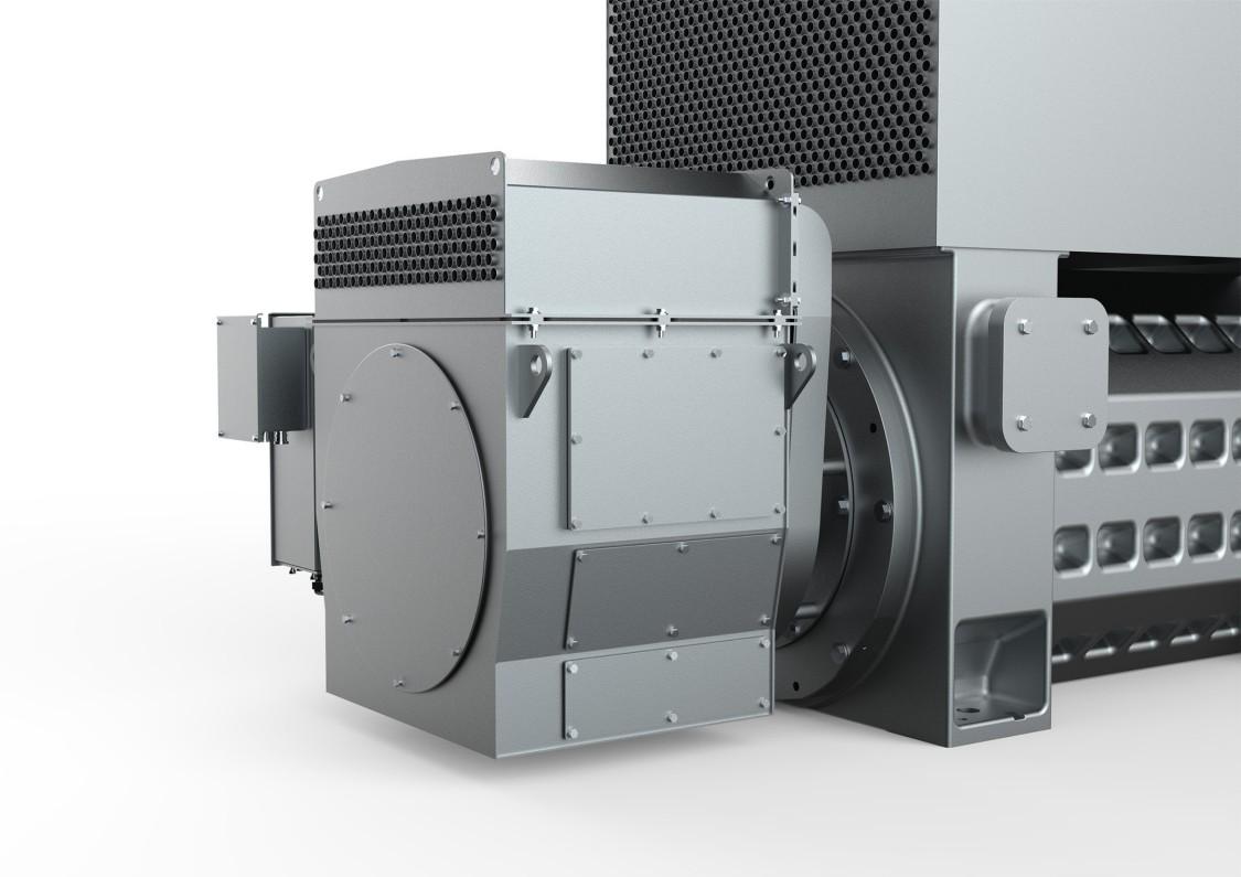 SIMOTICS HV M slipring motors – slipring compartment