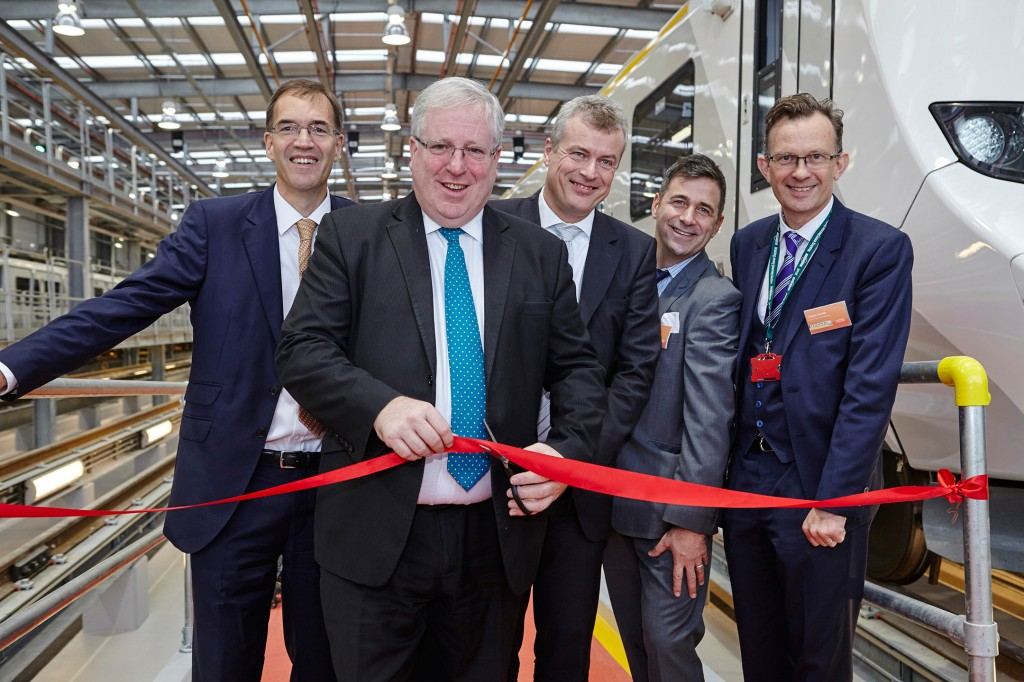 First depot for Thameslink trains opens doors