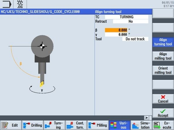 CNC4you Align turning tool