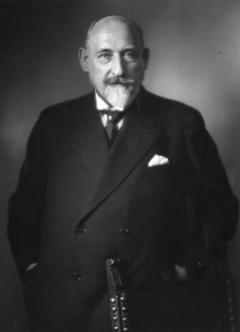 Siemens-Schuckertwerke CEO Carl Köttgen, 1925