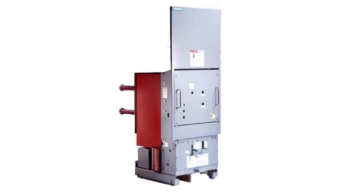 Medium-voltage vacuum roll-in replacement circuit breakers