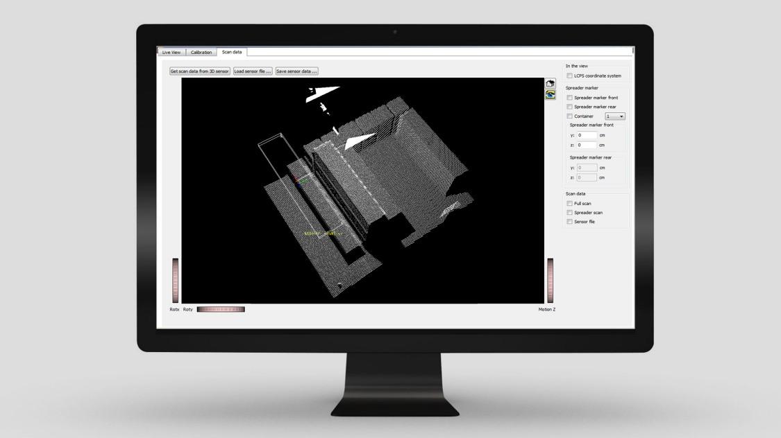 Screenshot Load Collision Prevention in SIMOCRANE