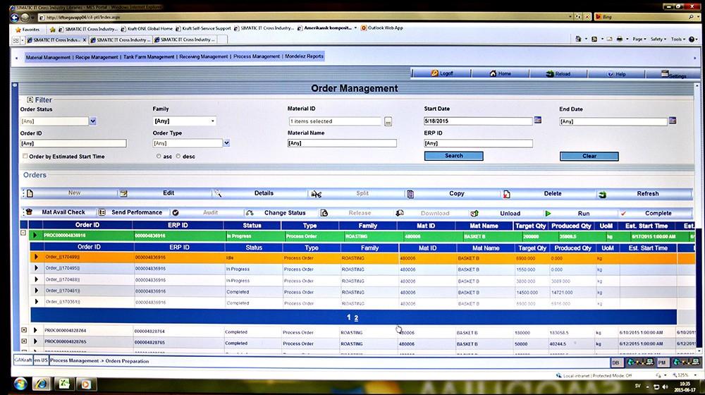 Full kontroll på produktionen med Simatic IT.