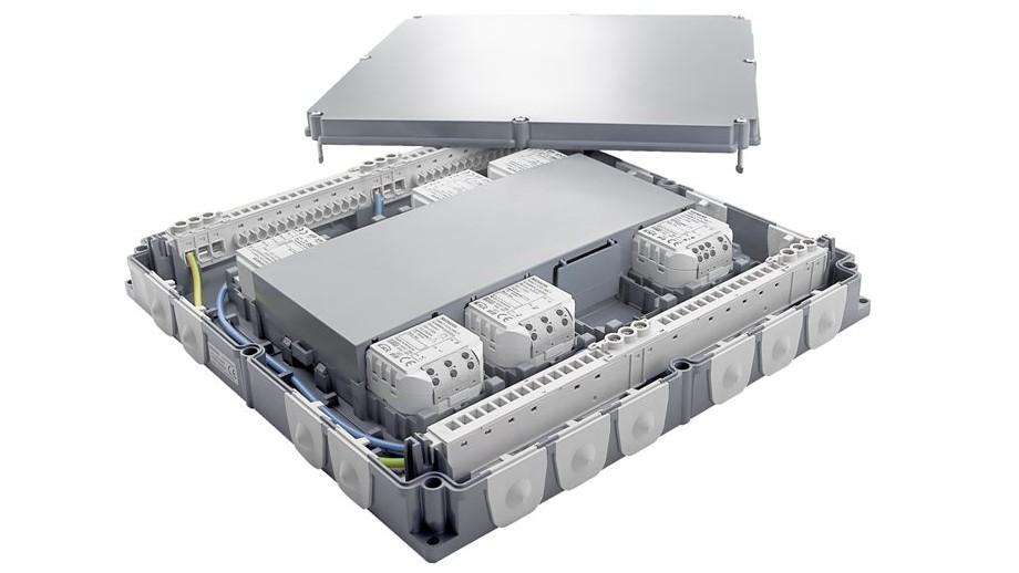 Coffret de gestion de la pièce: système d'installation modulable