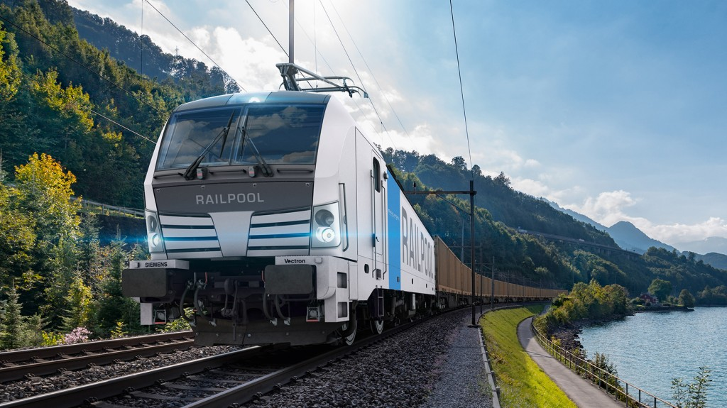 Siemens Mobility to deliver Vectron multisystem locomotives to Railpool for the first time