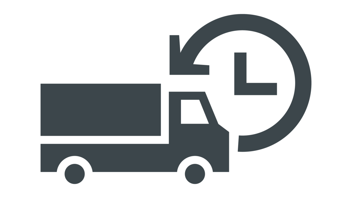 Icon about delivery