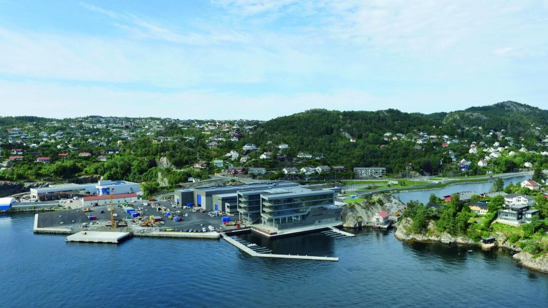 Sjølivet Gebäude: Firmenzentrale Framo AS