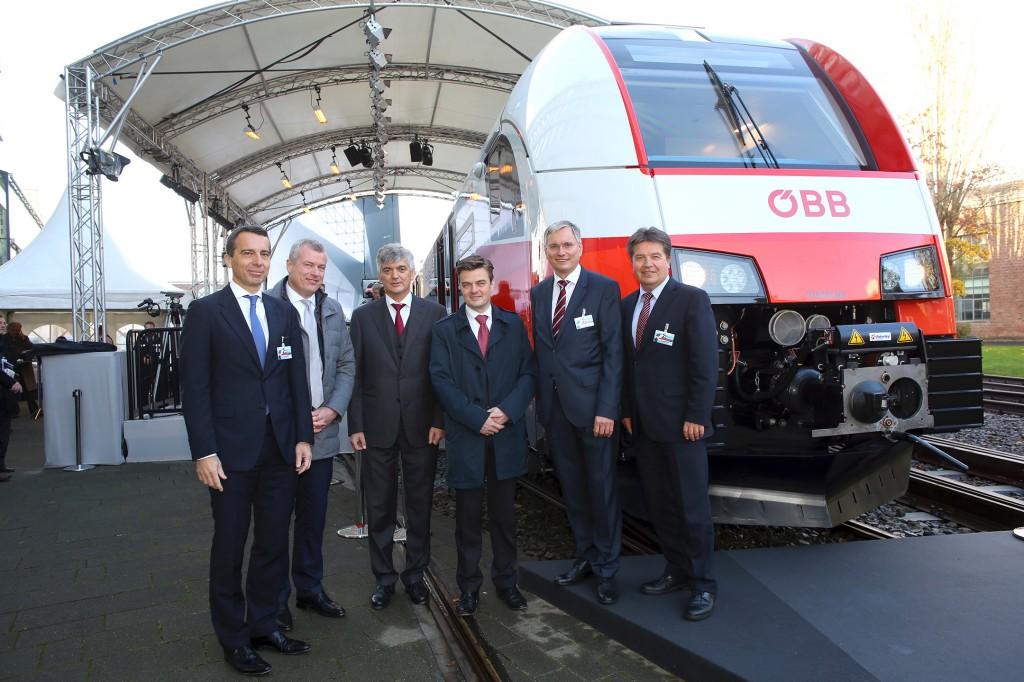 OeBB cityjet Desiro presented