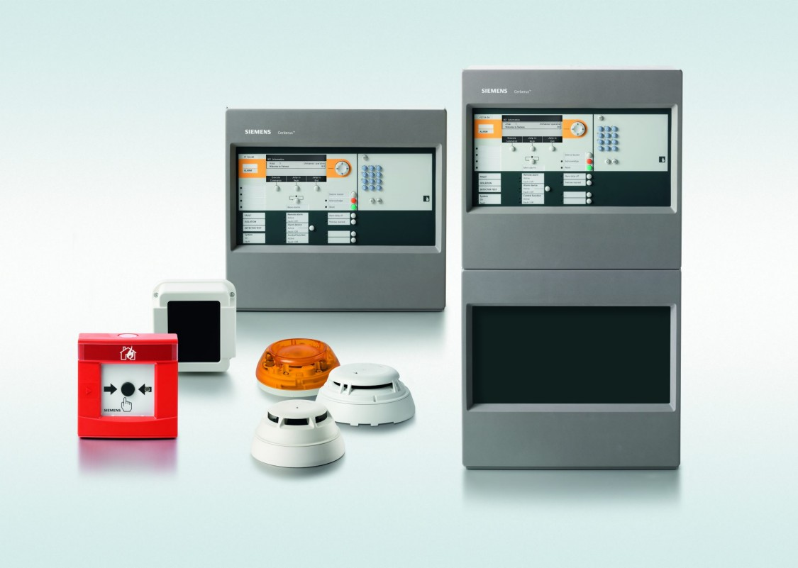 Siemens Cerberus PRO fire protection system