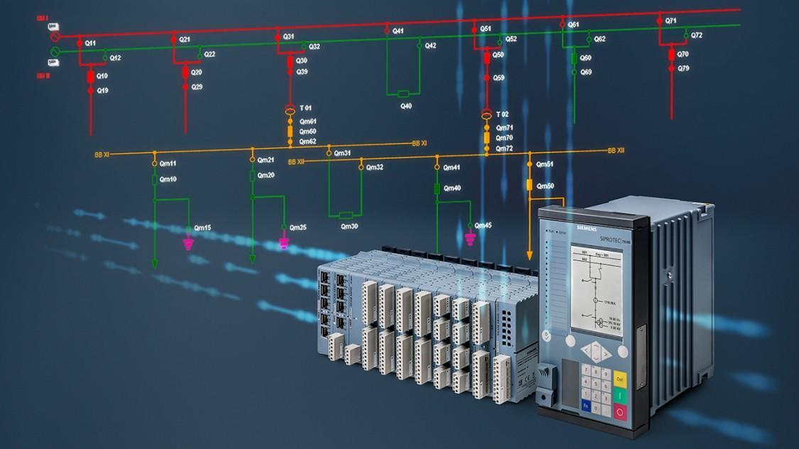 Stationsautomatisierung-Fernwirktechnik-Substation-Automation mit SICAM