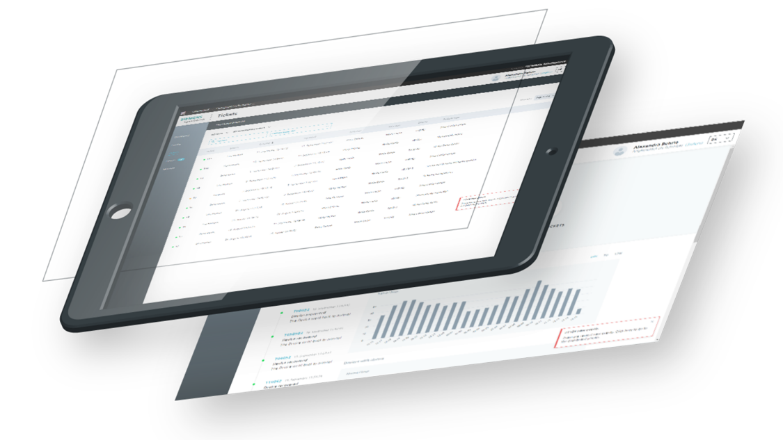 System Performance Dashboard for mass transit maintainers