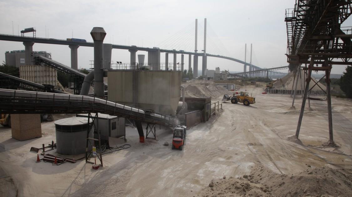 Hanson Cement | Essex, İngiltere | çimento endüstrisi
