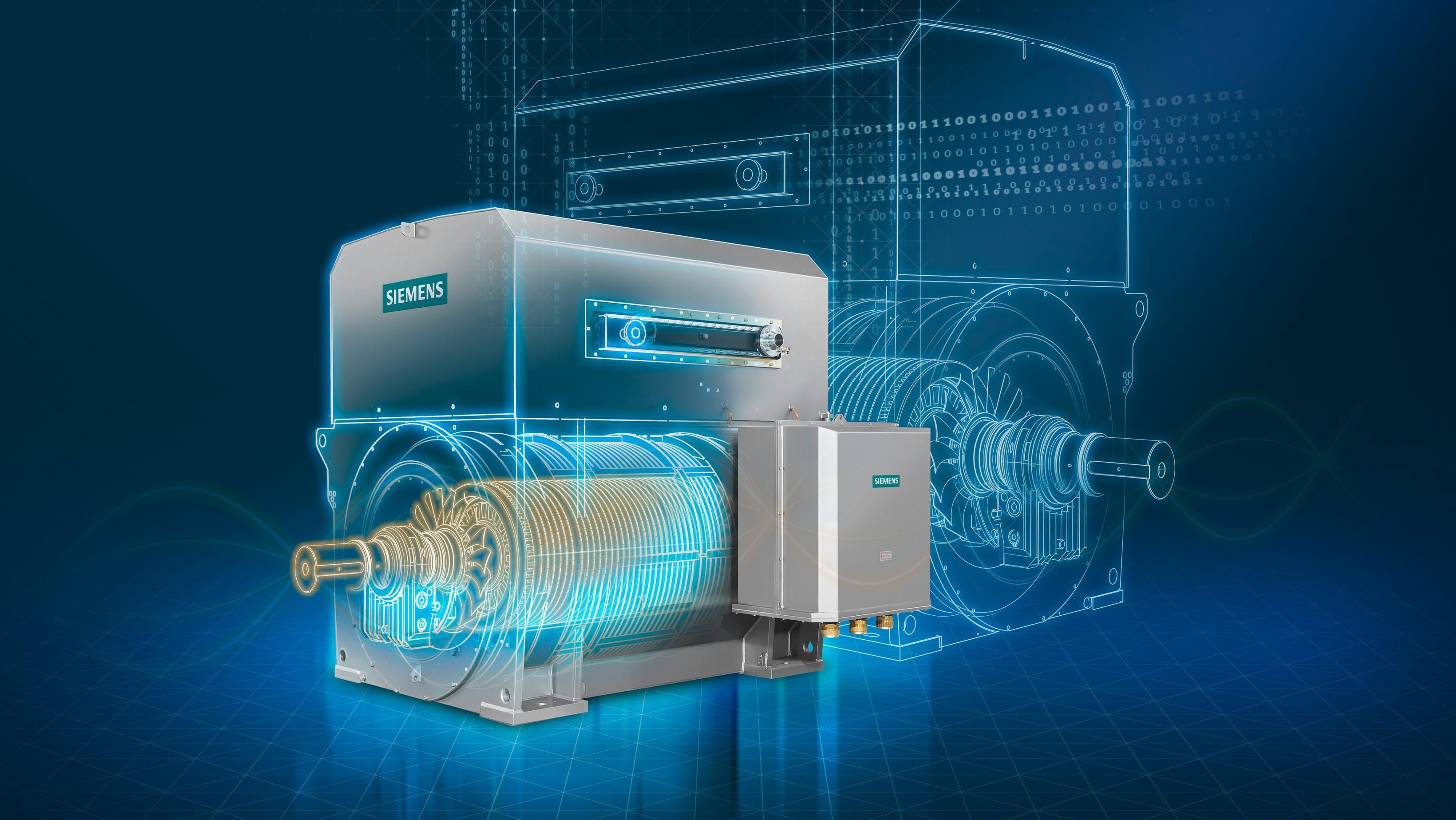 SIMOTICS HV M | High Voltage Motors | Siemens