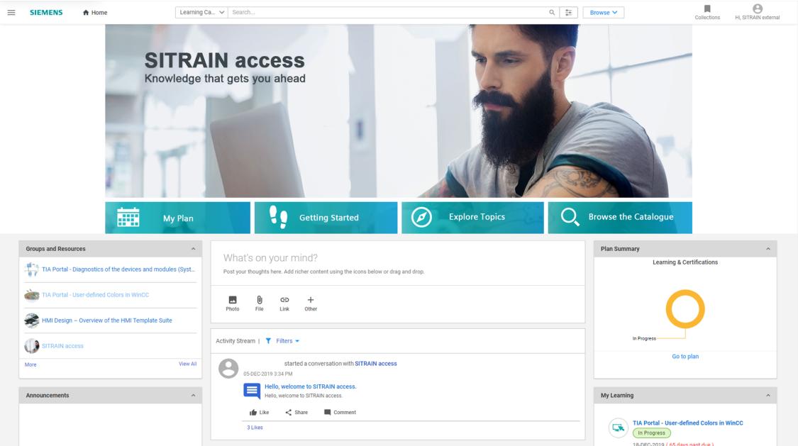 SITRAIN access – ny digital utbildningsplattform