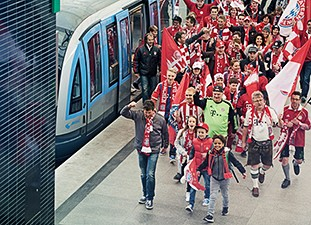"""Siemens is official """"Performance Partner"""" for FC Bayern München and FC Bayern Basketball."""