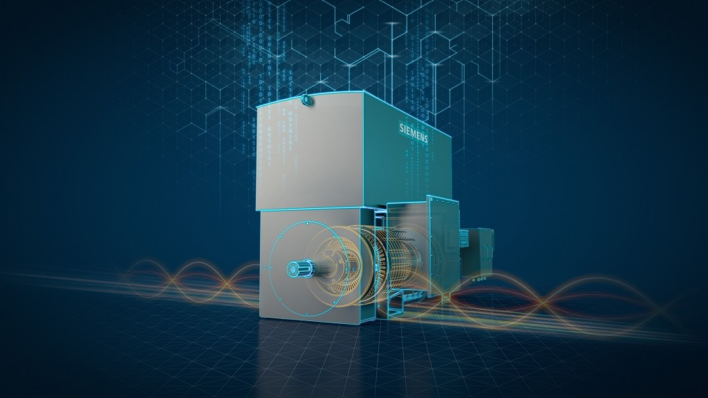 The new Simotics HV M slipring motors can be easily integrated into SIDRIVE IQ applications for highest availability, serviceability, productivity and efficiency.