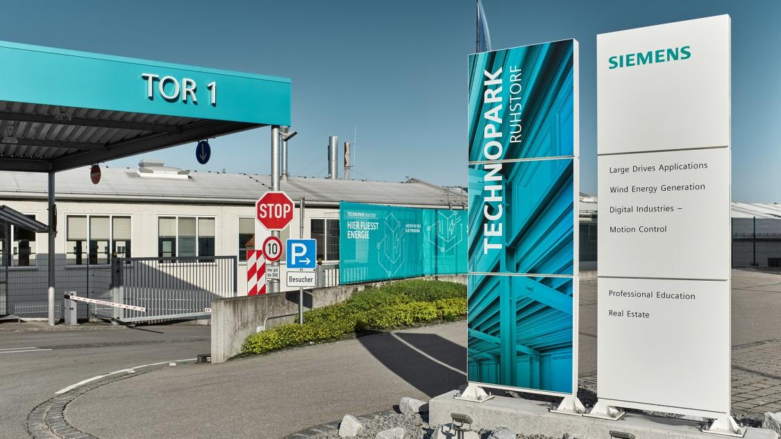 Technopark Ruhstorf: Einfahrt