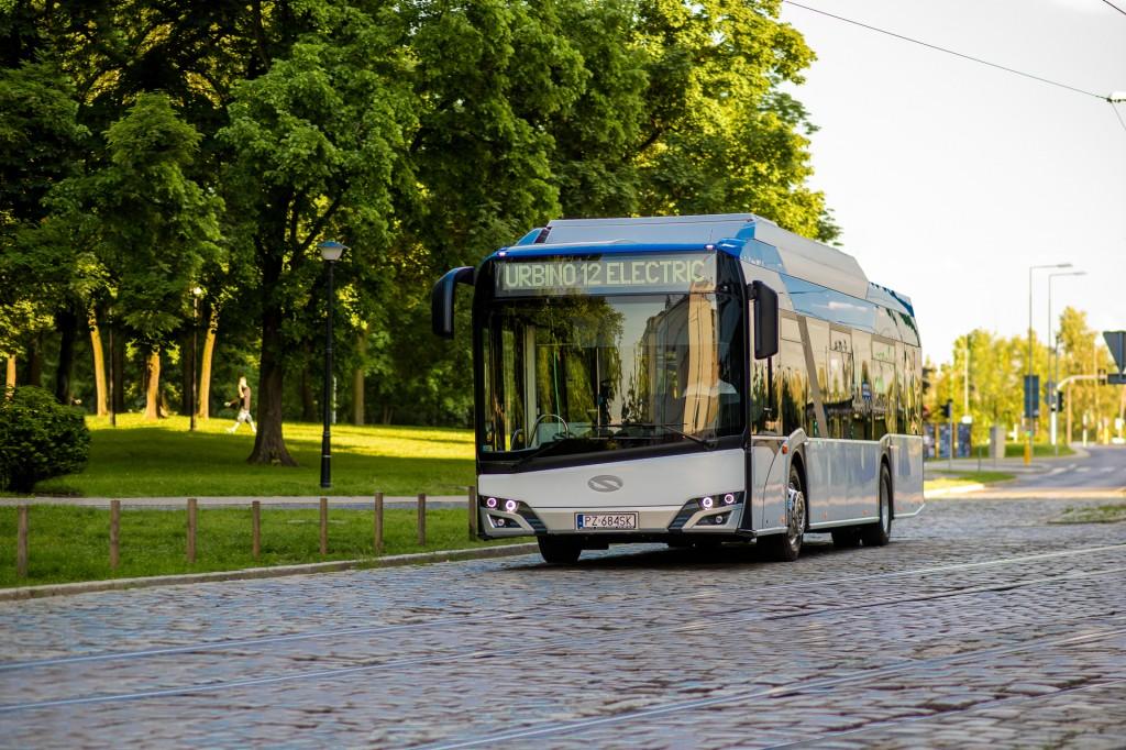 Siemens charging solution will power 24 Solaris electric buses in Ostrava.