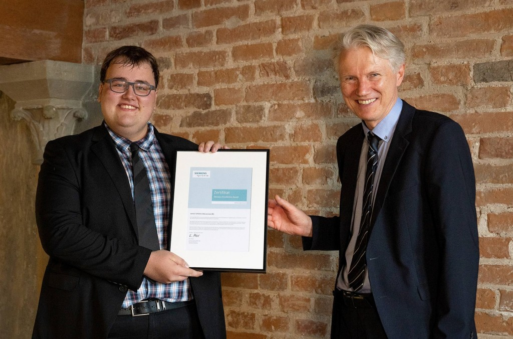 Nationaler Siemens Excellence Award 2021