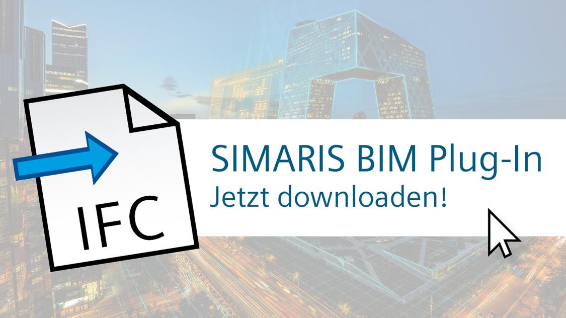 SIMARIS BIM Plug-In - Jetzt downloaden!