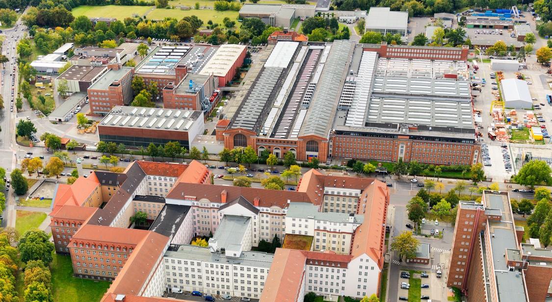 """The """"New Siemensstadt"""""""