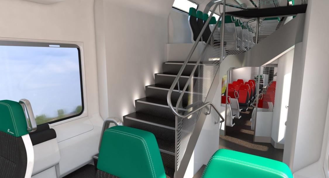 Viaggio Twin – cost-efficient double-deck passenger coach