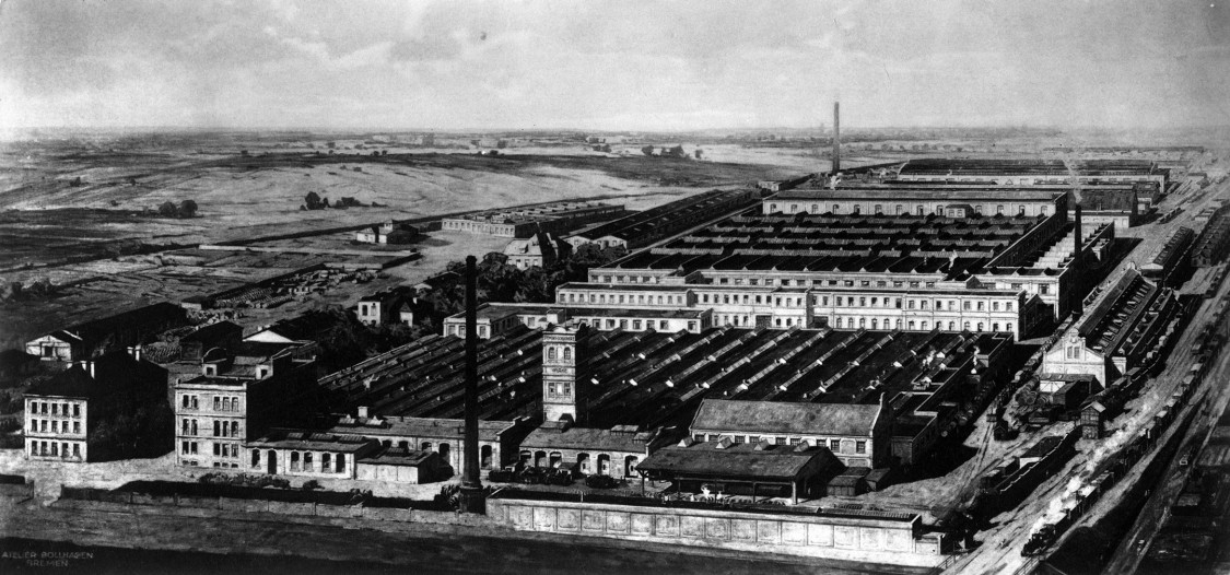 At a glance – the Leopoldau works, 1900