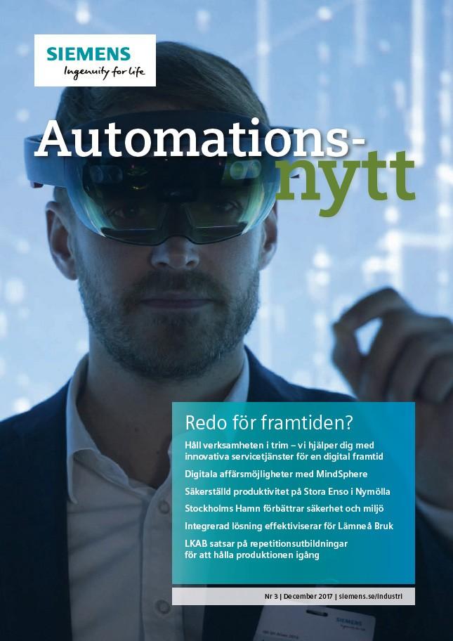 Automationsnytt Nr 3 | December 2017