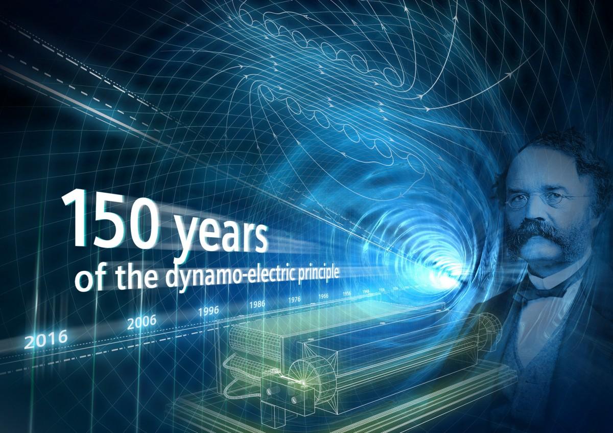 150 years dynamoelectric principle
