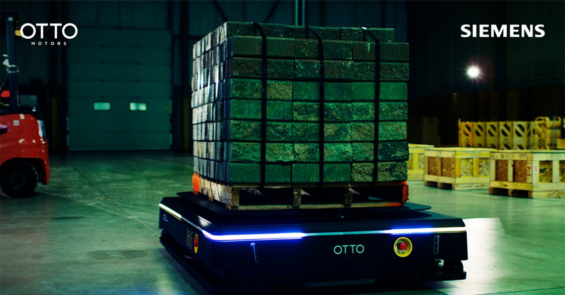 OTTO Motors and Siemens Partner to Implement Leading Autonomous Mobile Robot Material Handling Solution