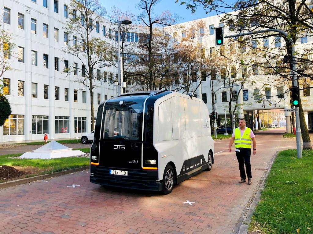 Siemens-Campus München-Perlach wird Testfeld für autonomes Fahren