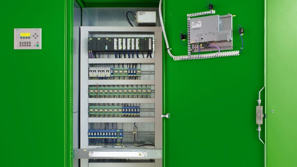 Sistema de controle de estação