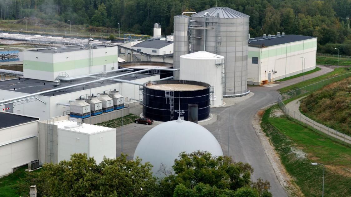 Estonian Cell - Wasseraufbereitung und Biogasanlage