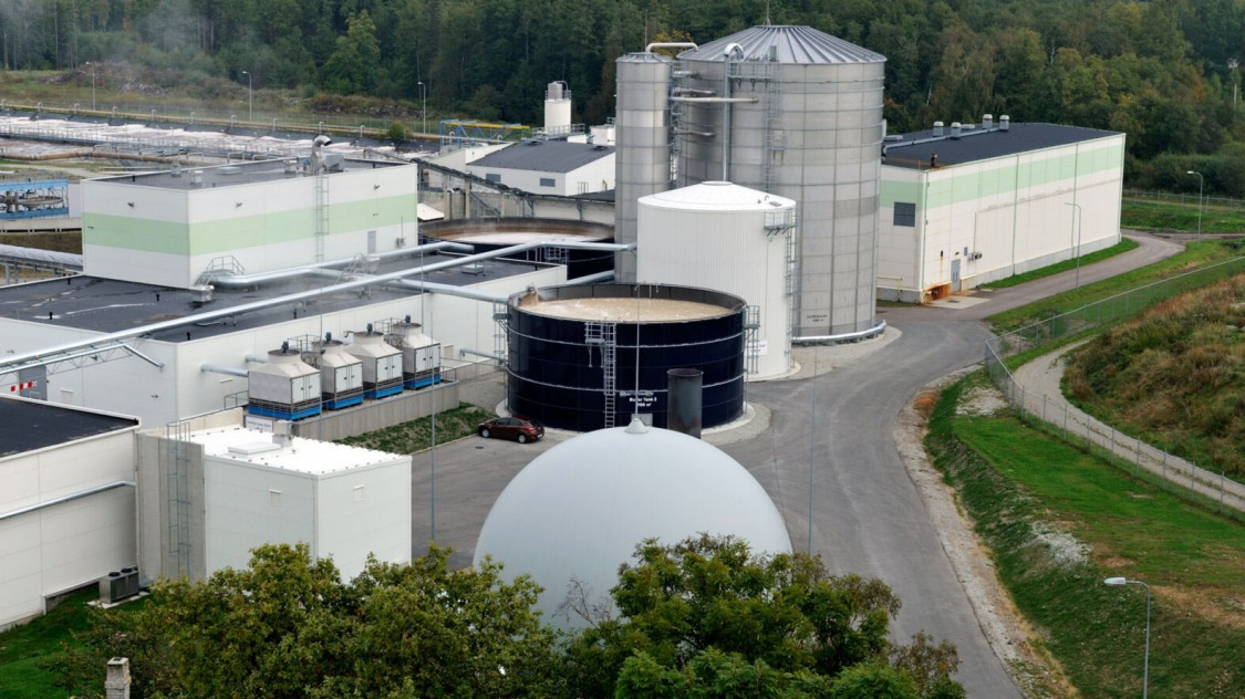 Estonian Cell - Water treatment and biogas plant