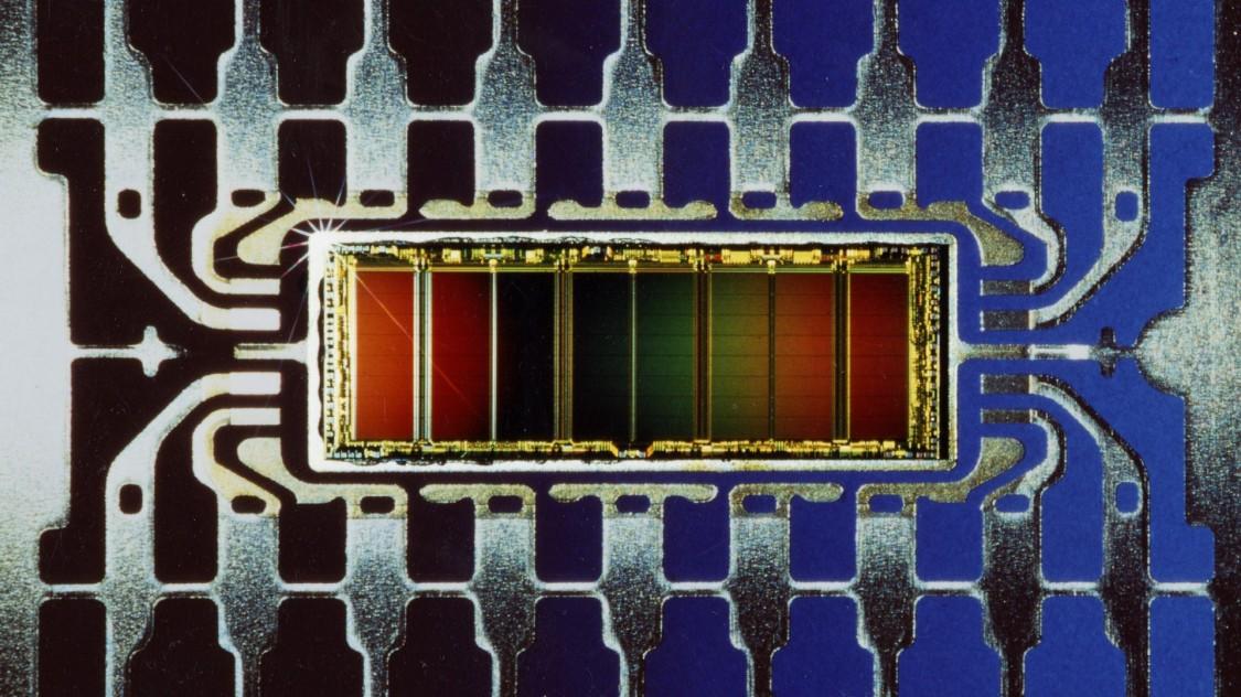 Chip 1 mbit của Siemens năm 1987