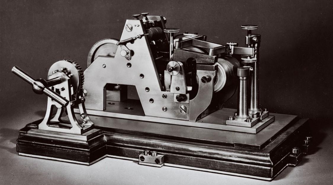 Апарат Морзе, 1853 рік