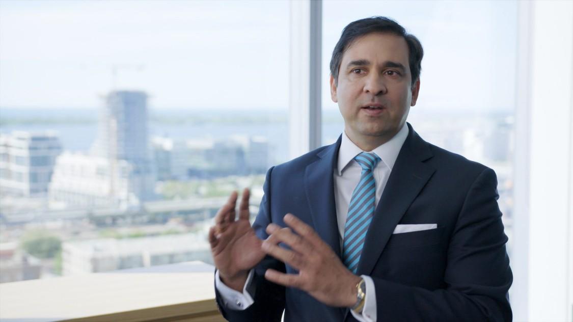 Faisal Kazi, President and CEO, Siemens Canada