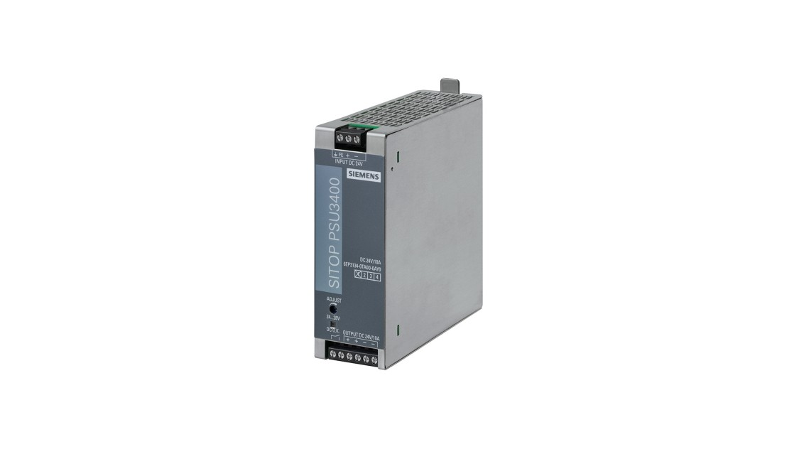 Product image of SITOP PSU3400, 24 V DC, 12 V DC/8 A