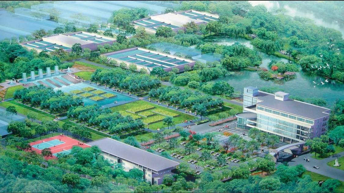 苏州水处理厂