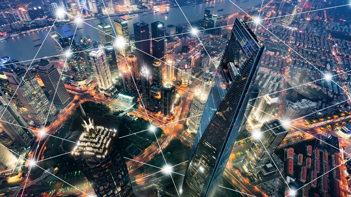 스마트 빌딩 부문의 디지털화 및 AI