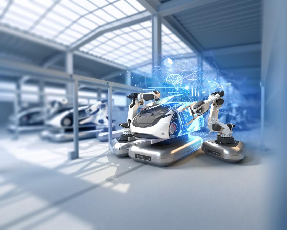 KI als Treiber für digitale Innovation und Industrie 4.0 (englisch)